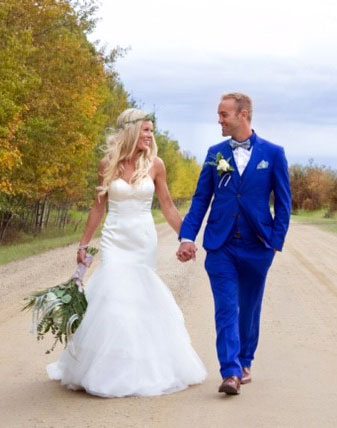 Wedding Commissioner in Leduc, Shaughan Whalen, features civil weddings and life celebrations in central Alberta.